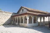 Antigua casa en chufut-kale, crimea — Foto de Stock