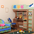 Children's room — Stock fotografie