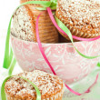 Muffins In Bowl - Stock Photo