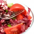 Closeup Red Salad - Stock Photo