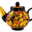 Russian Teapot - Stock Photo