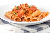Italian Pasta and Sauce — Stock Photo