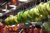 Plátano en el mercado en españa — Foto de Stock