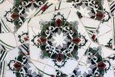 Mosaics at the park Guell — Stock Photo
