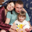 happy family at home — Stock Photo #3433811