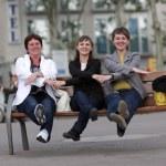 Three funny woman — Stock Photo #3487117