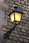 Street lamp in Barcelona — Stock Photo