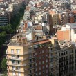 Stock Photo: View on residential district of Barcelona
