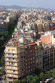 View on residential district of Barcelona — Stock Photo