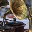 Stock Photo: Gramophone as antiques