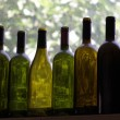 Stock Photo: Eight bottles