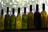 Eight bottles — Stock Photo