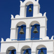 Belfry of greek church — Stock Photo