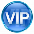 VIP icon blue. — Stock Photo
