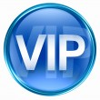 VIP icon blue. - Stock Photo