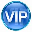 VIP icon blue. — Stock Photo