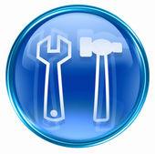 Tools icon blue. — Stock Photo
