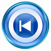Rewind Back icon blue. — Stock Photo