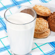 Royalty-Free Stock Photo: Milk and cookies
