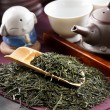 Traditional tea ceremony accessories - Stock Photo