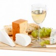 Cheese and wine — Stock Photo #3115222