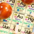 Royalty-Free Stock Photo: Periodic table of chemical elements