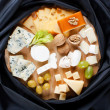Big group of cheeses — Stock Photo #3116844
