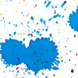 Ink splashes - Stock Photo
