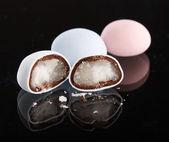 Marzipan in the chocolate — Stock Photo