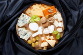 Big group of cheeses — Stock Photo