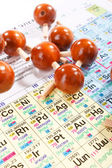 Periodic table of chemical elements — Stock Photo