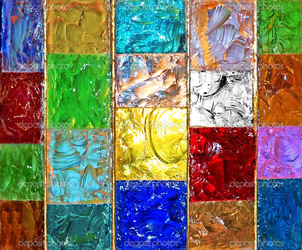 Mosaic glassy background — Stock Photo #2751727