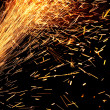 Stock Photo: Industrial firework.