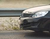 Broken new car-2 — Stock Photo