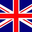 The Union Jack , UK — Stockvectorbeeld