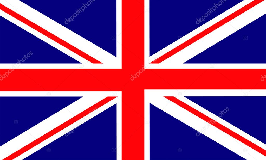 United Kingdom of Great Britain flag — Stock Vector #3842126