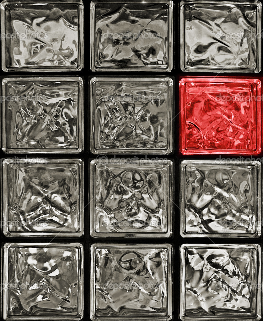 Glass blocks  Stock Photo #3887805