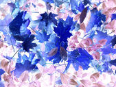Autumn leafs abstraction — Stock Photo
