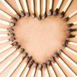 Match heart shape — Stock Photo