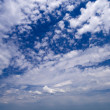 Wide angle blue sky — Stock Photo #3098251
