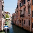Colorful canal Venice, Italy — Stock Photo #3449104