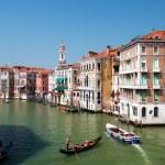 Grand canal Venice, Italy — Stock Photo #3449107