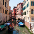 Colorful canal Venice, Italy — Stock Photo #3449109