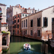 Colorful canal Venice, Italy — Stock Photo #3449119