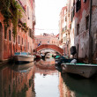 Colorful canal Venice, Italy — Stock Photo #3449130