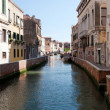 Colorful canal Venice, Italy — Stock Photo #3449132