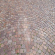 Paving stone street — Stock Photo