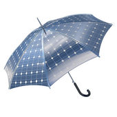 Photovoltaic umbrella — Stock Photo