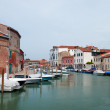 Views of the island of Murano, Italy — Stock Photo #3822186