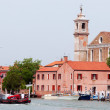 Views of the island of Murano, Italy — Stock Photo